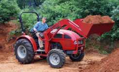 New Ergonomically Designed Tractor