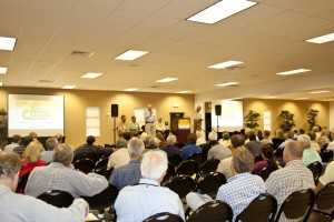 2012 Florida Citrus Show _grower panel crowd