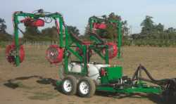 Multi-row sprayer