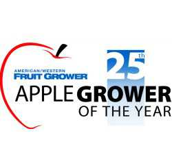 25th Apple Grower of the Year logo