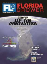 Florida Grower October 2013 cover