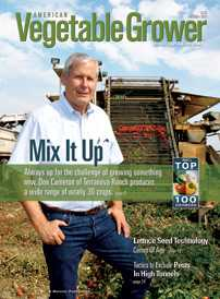 American Vegetable Grower October 2013 cover