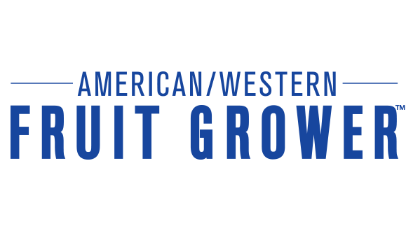 American/Western Fruit Grower (AFG) color logo - blue
