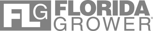FG - Florida Grower gray menu logo