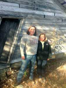 Dave and Denise Dyrek operate Leaning Shed Farm in Michigan. Photo credit: Dave Dyrek