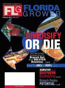 Feb. 2011 Florida Grower cover archive