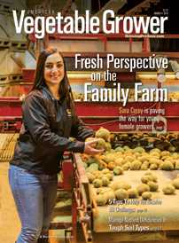 American Vegetable Grower March 2014 cover