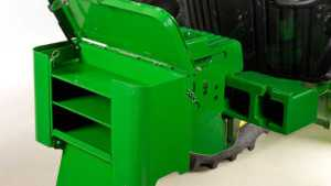 New Front-Mounted Tractor Toolbox From John Deere Stores Large Tools