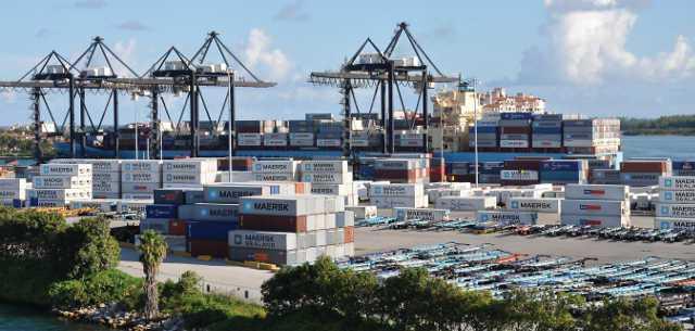 Port Of Miami shipyard