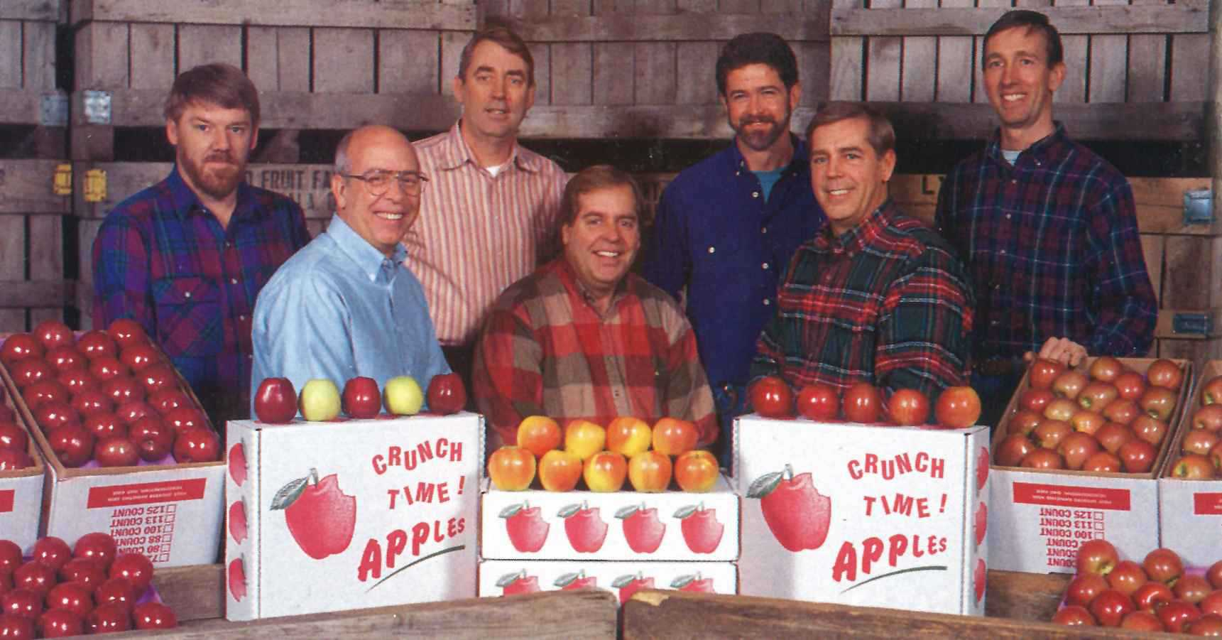Apple Grower Of The Year Mitch Lynd Growing Produce