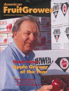 American Fruit Grower AGTY cover 1994 Chuck Peters
