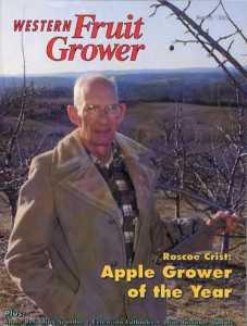 Western Fruit Grower AGTY cover 1993 Roscoe Crist