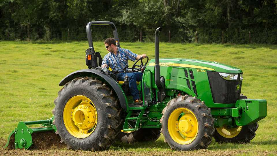 John Deere Announces Changes To 5m Utility Tractors Growing Produce