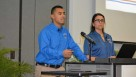 University of Florida Ag Economics Students presented a spot-on presentation demonstrating how to get the most out of social media. They highlighted several growers as examples of how to use their digital domains including Lipman, Wish Farms, and Blue Sky Farms. Photo by Frank Giles