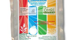 Companion Biological Fungicide Now OMRI Listed