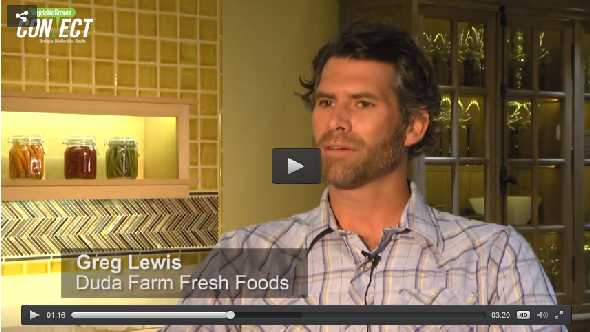 Greg Lewis of Duda Farm Fresh Foods discusses VegetableGrowerConnect