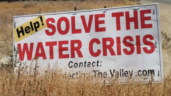 drought sign water crisis