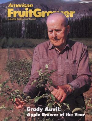 American Fruit Grower AGTY 1990 Grady Auvil