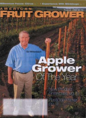 American Fruit Grower AGTY 1999 Ed Wittenbach