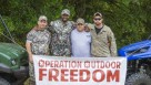 Operation Outdoor Freedom participants