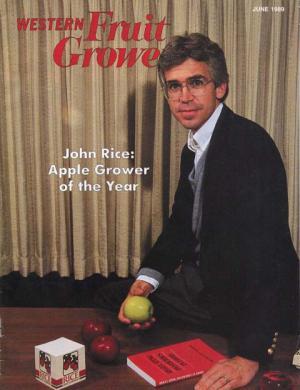 Western Fruit Grower AGTY 1989 John Rice