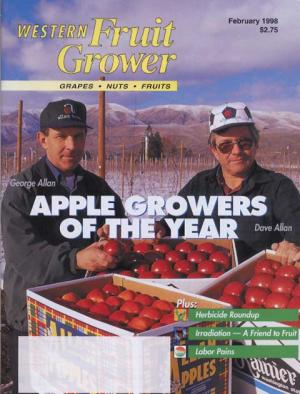 Western Fruit Grower AGTY 1998 George and Dave Allan