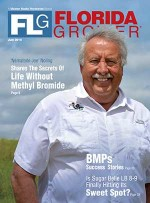 Florida Grower magazine July 2015 cover