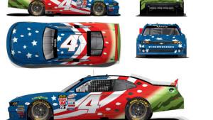 National Watermelon Association Designs Patriotic Car For NASCAR Racer
