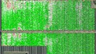 infrared image showing the difference between using crop termination fumigation in the field and not