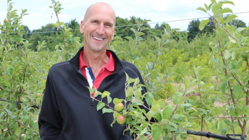 Bill Dodd, The 2015 Apple Grower Of The Year