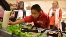 The salad bar donations from H-E-B and Dole were organized in conjunction with the United Fresh Start Foundation, a founding partner of the national Let's Move Salad Bars to Schools initiative.  Photo courtesy of United Fresh Produce Association