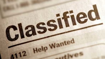 Help Wanted classified ad