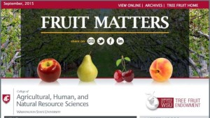 New Tree Fruit Web Site And Newsletter Launched