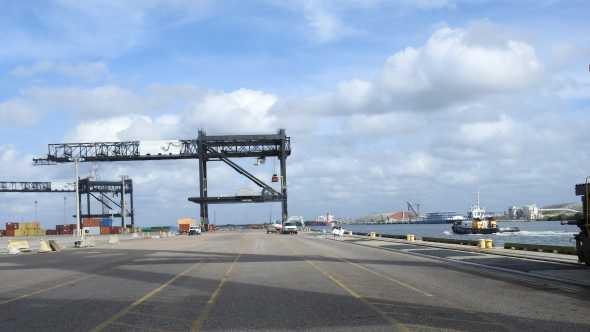 Cranes at the Port Tampa Bay