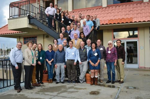 Members of the RosBREED team and some of the advisors at the annual advisory panel meeting this past January is San Diego, CA. (Photo Credit: Mercy Olmstead)
