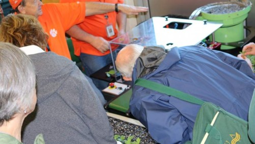 Clemson Scientists Unveil New Vegetable Grafting Robot