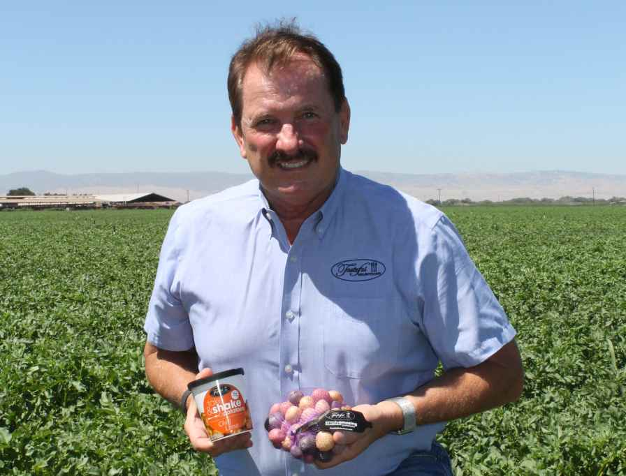 Bob Bender, President and General Manager of Tasteful Selections in Arvin, CA. Photo credit: David Eddy