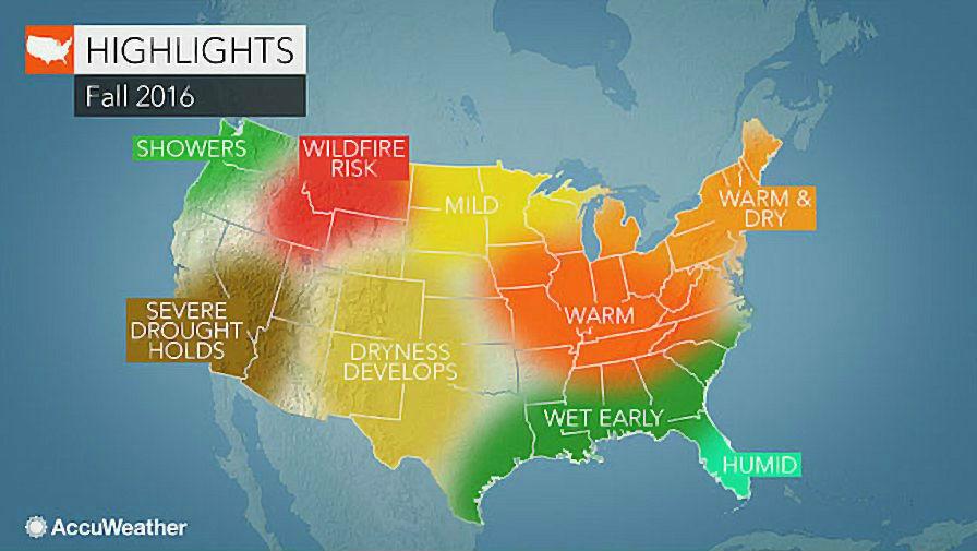 Move Over, El Niño, La Niña To Affect Fall Weather - Growing ...