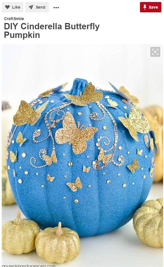 8 Pumpkin Decorating Ideas Seen On Pinterest - Growing Produce