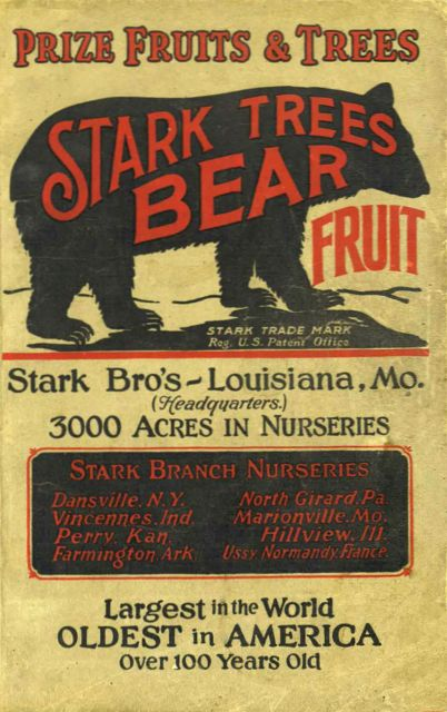 This Stark Bros Catalog is from 1923.