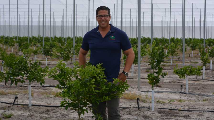2017 Florida Grower Citrus Achievement Award winner Ed Pines