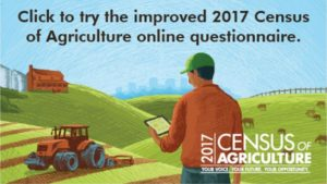 Last Call to Complete 2017 Census of Agriculture