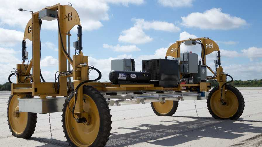 Harvest CROO Robotics mobile strawberry picking platform