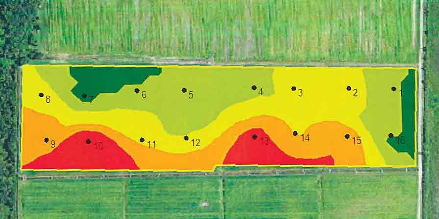 soil mapping grid