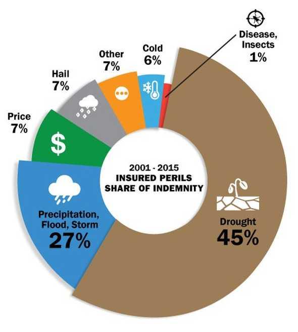USDA crop insurance graphic