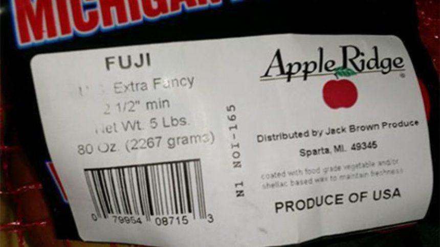 Michigan Produce Company Issues Apple Recall