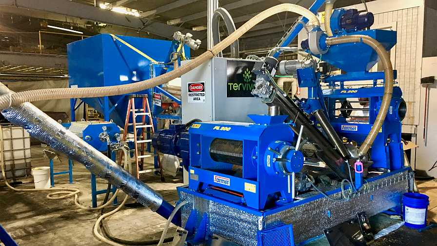 Pongamia processing machine