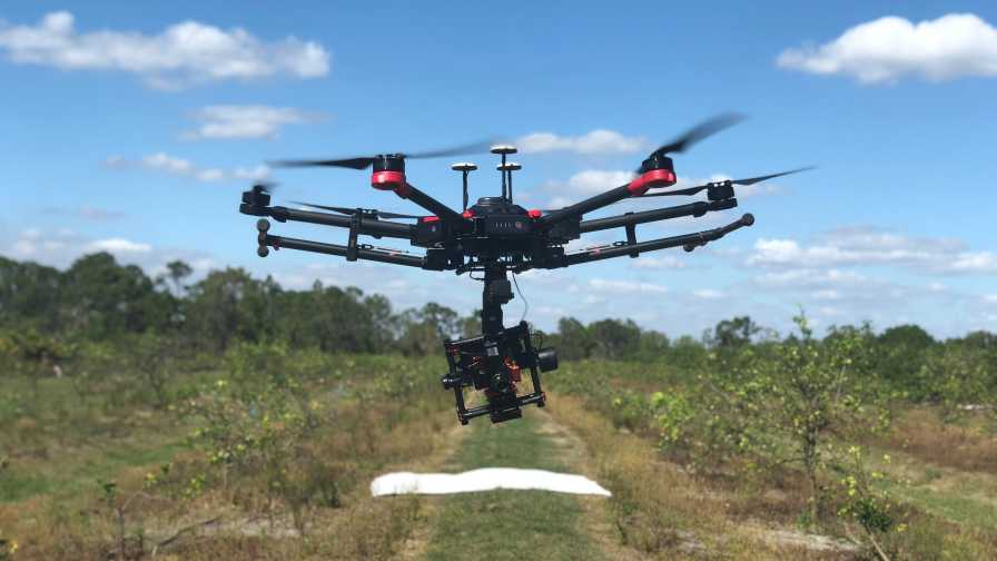 DJI Matrice UAV with Hyperspectral Camera