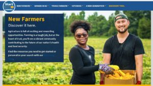 USDA Offers Online Tools for New Growers