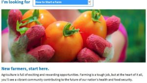 USDA Websites Perfect for New Growers